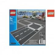 Lego city rettiline e incrocio 7280