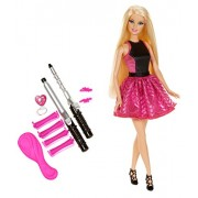 Barbie - Riza y Peina, muñeca y accesorios (Mattel BMC01)