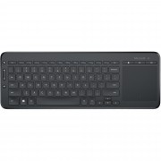 Tastatura Microsoft Wireless All-in-One negru