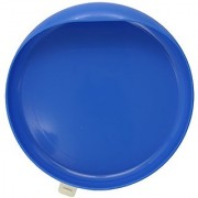 Ableware 745350012 Scooper Plate With Suction Cup Base Blue