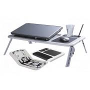Мултифункционална, сгъваема портативна маса за лаптоп!