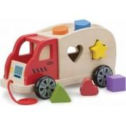 Jucarie copii New Classic Toys Shape Sorter Truck