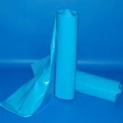 Zsák 700x1100mm/43my LDPE kék