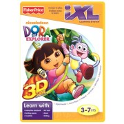 Fisher-Price iXL Learning System Software Dora the Explorer 3D by Dora the Explorer