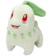 "Pokemon Center Pokemon Canvas Plush Doll 5""-Chikorita"