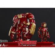 Hot Toys Marvel Avengers Age of Ultron Iron Man Mark XLIII (Battle Damaged Version) and Hulkbuster - Artist Mix