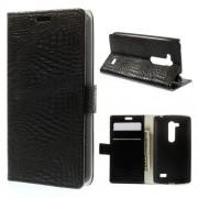 Husa Flip Cu Stand LG L Fino D295 Dual SIM Neagra