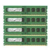 Kingston KVR1333D3N9HK4/32G Memoria RAM da 32 GB, 1333 MHz, DDR3, Non-ECC CL9 DIMM Kit (4x8 GB), 240-pin, 1.5 V