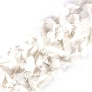 Kit Com 120 Colares Havaianos Branco Plástico