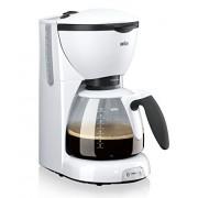 Braun KF 520/1 - Cafetera de espresso manual, color blanco