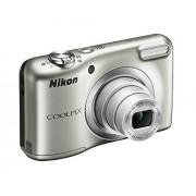 """Nikon COOLPIX A10 SILVER 16.1MP 1/2.3"""" CCD 4608 x 3456Pixeles Plata Cámara digital (Cámara compacta, 1/2.3"""", CCD, 4608 x 3456 Pixeles, 3264x2448, 2272x1704, 1600x1200, 640x480, 4608x2592, 1:1, 16:9)"""