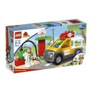 LEGO Pizza Planet Truck - figuras de construcción (Multicolor)