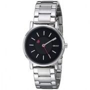 DKNY Quartz Black Round Women Watch NY2268