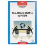 Realismul si balanta de putere - John A. Vasquez Colin Elman