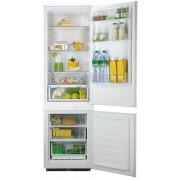 Combina frigorifica Hotpoint Ariston BCB 310 AA, Incorporabila, A+, Sistem De Racire Static, Protectie Hygiene Advance, 198 + 57 Litri, Alb