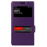 MOFI Lumia 830 Sparkle Case Flip Cover Slim Fit Case Protective flip Cover for Nokia Lumia 830 (Purple)