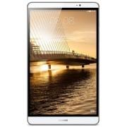 "Tableta Huawei Mediapad M2 8, Procesor Octa-Core 2GHz / 1.5GHz, IPS LCD Capacitive touchscreen 8"", 2GB RAM, 16GB, 8MP, Wi-Fi, 4G, Android (Argintiu) + Stylus Vakoss 2in1 SB-317V cu pix pentru ecran capacitive (Argintiu) + Cartela SIM Orange PrePay, 5 euro"