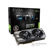 Placa video EVGA nVidia GTX 1070 8GB DDR5 FTW DT Gaming ACX 3.0 - 08G-P4-6274-KR