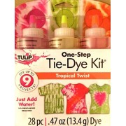 One Step Tie Dye Kit Tropical Twist