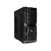 Carcasă PC fără sursă A4-Tech-Gembird CCC-GJ-002-R, ATX negru-roșu