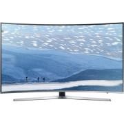 Televizor LED Samsung UE65KU6682, curbat, smart, Ultra HD, PQI 1600, 65 inch, DVB-T2/C/S2, argintiu