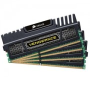 Memorie Corsair 32GB (4x8GB) DDR3, 1866MHz, CL10, Vengeance, Quad Channel Kit, CMZ32GX3M4X1866C10