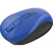 Mouse Esperanza Titanum Neon, Wireless (Albastru)