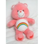 "Care Bears 13"" Plush Cheer Bear Doll"