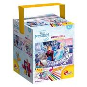 Lisciani Giochi 53544 - Puzzle in a Tub Maxi Frozen, 120 Pezzi, Multicolore