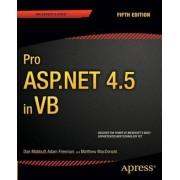 Pro ASP.NET 4.5 in VB 2013 by Dan Mabbutt