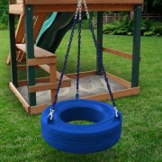 Gorilla Playsets Commercial Grade Tire Swing 04-0015-B/B Color: Blue