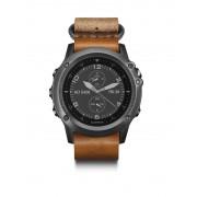 Garmin fenix 3 Saphir GPS Multisportuhr inkl. Leder-/Nylonarmban Armband-Navigatoren