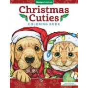 Christmas Cuties Coloring Book by Jenny Newland