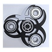 4 gear unique and rare finger spinner | Hand spinner || Exclusive Fidget || Spins great || White finger hand spinner | Best your money can buy || Top spin AAA finger spinner ( Any one random Color Will Come ) ( One random color will come )