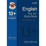 The 13+ English Study Book for the Common Entrance Exams (with Online Edition) by CGP Books