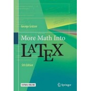 More Math into Latex 2016 by George A. Gratzer