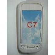 Husa Silicon Nokia C7 Alba