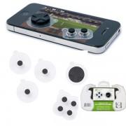 5 pulsanti game controller analogico compat iphone mod verde