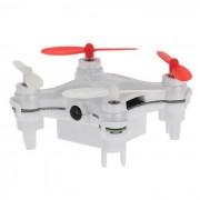 L7C original 2.4G 4 canales 6-Axis Gyro RC Mini Quadcopter - Blanco