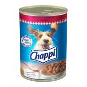 Консерва за кучета Chappi Говеждо и Моркови 400 г