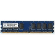 Nanya - Mémoire - 1 Go - DIMM 240 broches - DDR2 - 1Rx8 - PC2-6400U - 667 MHz - NT1GT64U88D0BY-AD