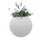 rephorm - ballcony bloomball Pflanztopf, weiß