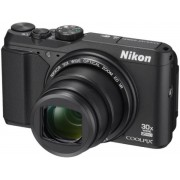 Aparat Foto Digital NIKON COOLPIX S9900 (Negru), Filmare Full HD, 16MP, Zoom Optic 30x, GPS, Wi-Fi, NFC