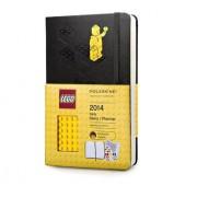 Moleskine 2014 Planner 12 Month Lego Daily Large Black