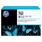 HP 761 Dark Gray Designjet Ink Cartridge, 400ml (CM996A)