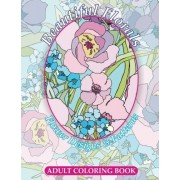 Lilt Kids Coloring Books Beautiful Florals Flower Designs & Patterns Adult Coloring Book: Volume 25 (Sacred Mandala Designs and Patterns Coloring Books for Adults)