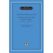 Genealogy of the Pagan Gods: v. 1, Bks. I-V by Giovanni Boccaccio