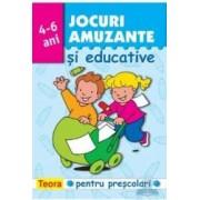 Jocuri Amuzante Si Educative 4-6 Ani - Bleu