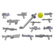 Little Arms: 13 piezas set de armas en plata