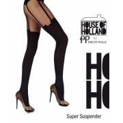 Trendy pantys met kousenmotief Super Suspender van House of Holland for Pretty Polly